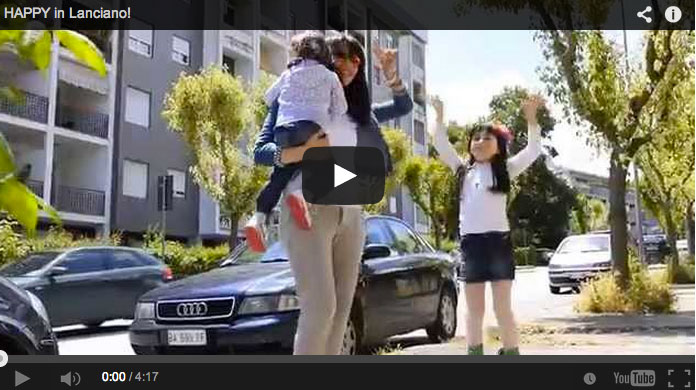 HAPPY in Lanciano, il video realizzato dai ragazzi di LiberaMente