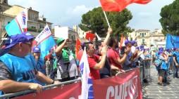 I metalmeccanici in sciopero per il rinnovo del contratto nazionale