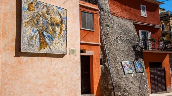 Un mosaico per Tornareccio 2016 dedicato alla Madonna del Carmine
