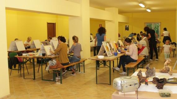 Scuola di mosaico a Tornareccio con i maestri di Ravenna