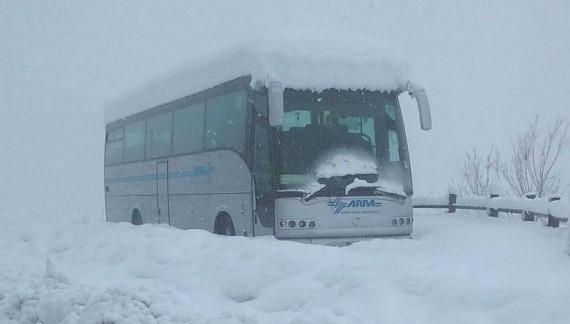 Autobus Tua e Di Fonzo ancora ridotti