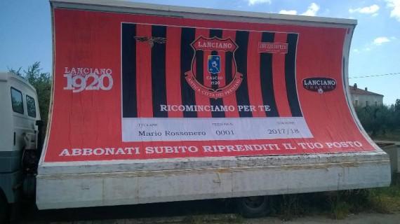 Il Lanciano Calcio presenta la campagna abbonamenti
