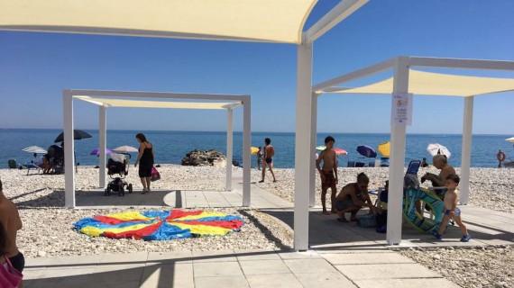 """Al progetto """"Una spiaggia per tutti"""" di Fossacesia il Cresco award città sostenibili"""