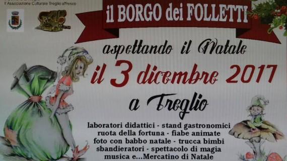 """Domenica Treglio si trasforma nel """"borgo dei folletti"""""""