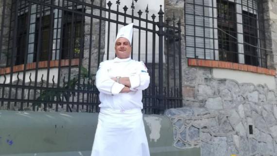 Lo chef lancianese D'Ovidio ai fornelli a Casa Sanremo