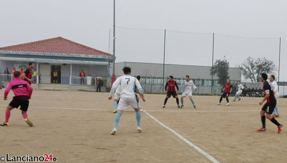 Lanciano fermato a Paglieta, Athletic in zona play off