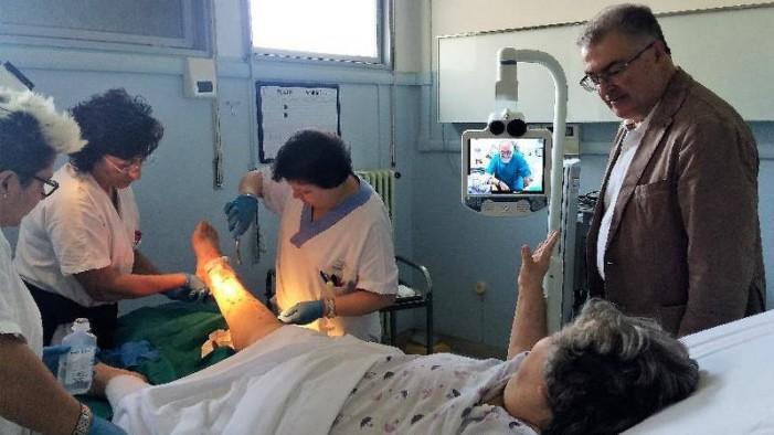 A Casoli e Guardiagrele visite a distanza con i medici di Lanciano e Chieti