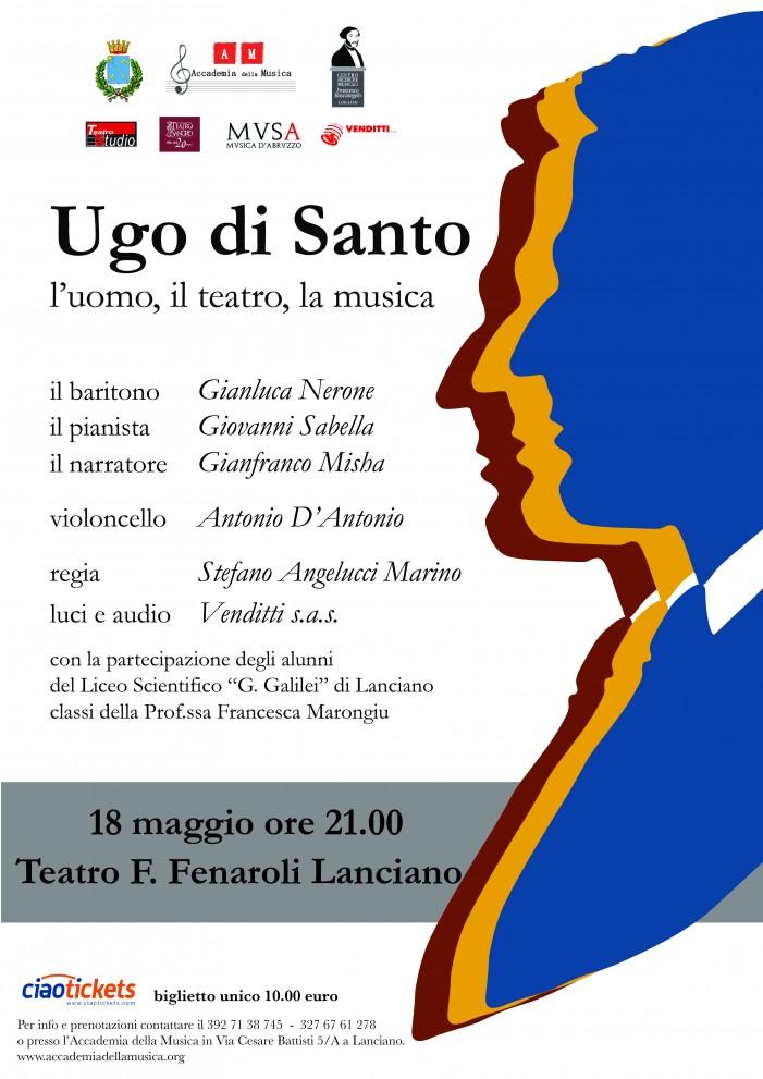 Uno spettacolo in memoria del musicista lancianese Ugo Di Santo