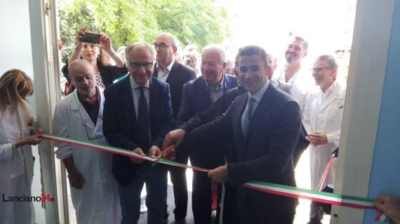 Inaugurata la nuova Chirurgia del Renzetti: reparto attivo entro due settimane