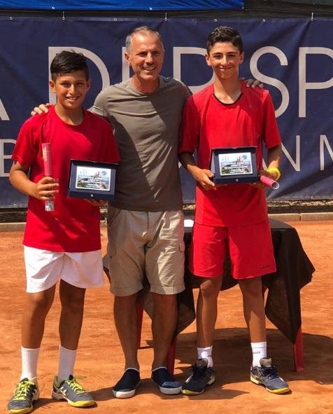 Piccoli campioni crescono al Circolo tennis Lanciano: Andrea Rossi Principe vince la San Marino Junior cup