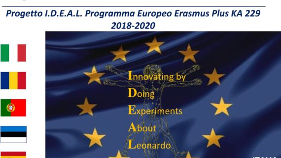L'Istituto Comprensivo di Castel Frentano apre le porte all'Europa con il progetto ERASMUS PLUS