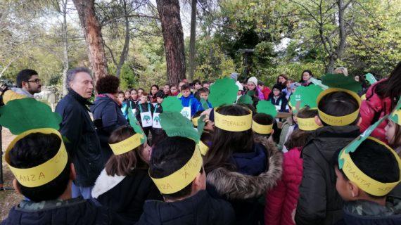 Atessa, celebrata la Festa dell'albero con 30 piantumazioni