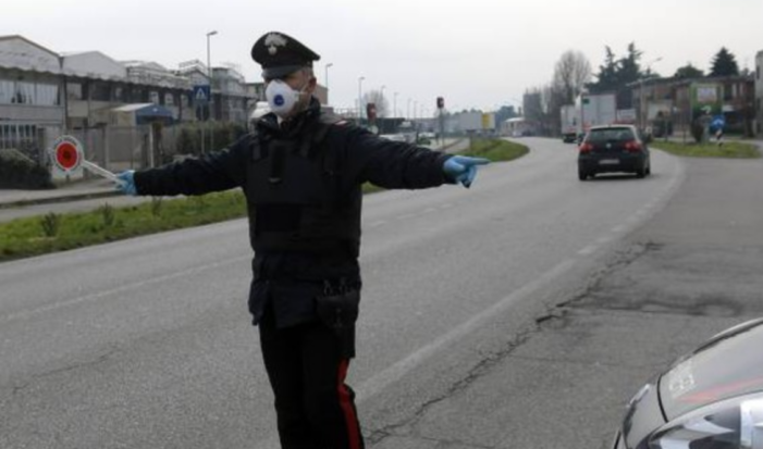Carabinieri. Controlli per l'osservanza del decreto – coronavirus. Ancora denunce
