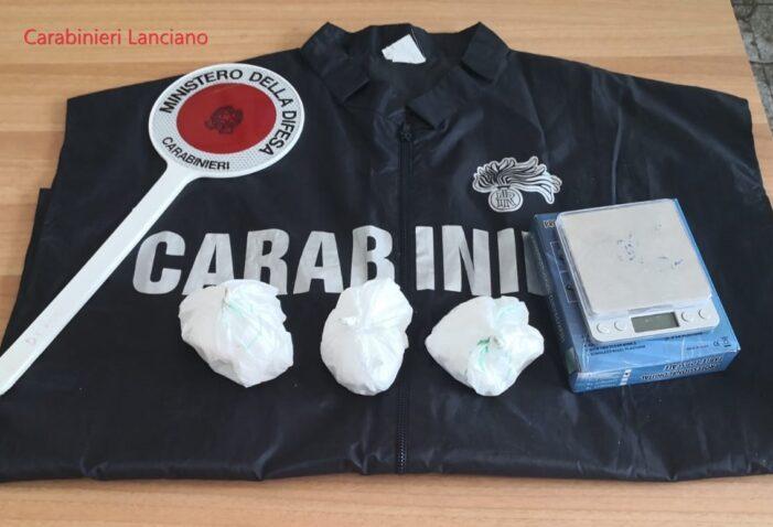 Lanciano. Cocaina e bilancino in garage. Carabinieri arrestano un 54 enne del luogo.